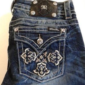 Miss me jeans size 29 boot cut jp5918b